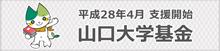 山口大学基金Webサイト