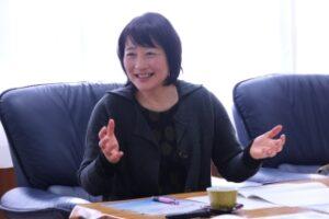 鍋山副学長(ダイバーシティ推進担当)・室長